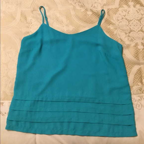 attention Tops - 2 for $20 Teal green cami